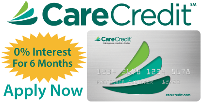 Click to Learn More About Care Credit Financing