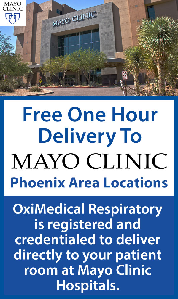 Free Delivery to Mayo Clinic Hospitals